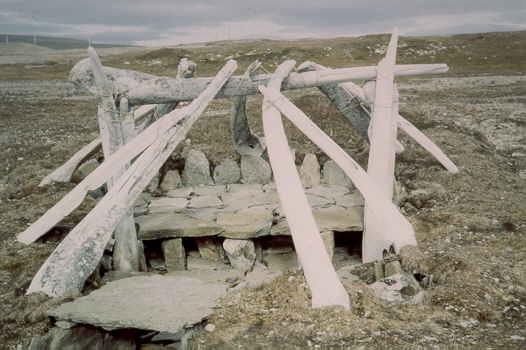Thule Culture Whale Bone House Resolute Bay Cornwallis